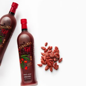 photo of Ningxia red bottles